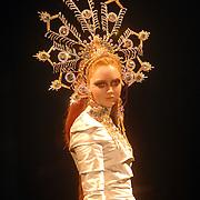 NLD/Amsterdam/20060515 - Presentatie nieuwe sieradenlijn Rodrigo Otazu 2006, topmodel Lily Cole