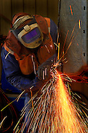 Maitenence worker grinding. <br /> Larger JPEGS and TIFFs available. Contact us via  www.photograhy4business.com