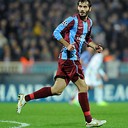 Trabzonspor's Halil ALTINTOP during their UEFA Champions League group stage matchday 4 soccer match Trabzonspor between CSKA Moskva at the Avni Aker Stadium at Trabzon Turkey on Wednesday, 02 November 2011. Photo by TURKPIX