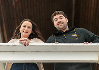 Josie and Dillion - a wedding proposal at The Newburyport Lighthouse on October 23, 2020. They are planning an October 2021 wedding.