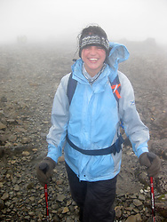 Council worker Jenna Kolodziej (corr), 24, from Balloch, Dumbartonshire..The John Hartson Foudation walk up Ben Nevis..Pic ©2010 Michael Schofield. All Rights Reserved.