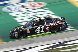 July 13, 2018 - Sparta, Kentucky, United States of America - Kurt Busch (41) brings his race car down the front stretch during practice for the Quaker State 400 at Kentucky Speedway in Sparta, Kentucky. (Credit Image: © Chris Owens Asp Inc/ASP via ZUMA Wire)
