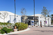 Anaheim Ice Arena Front Entrance at Ctr City