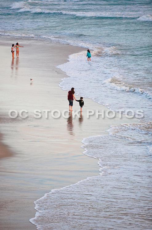 Low Tide at Huntington Beach