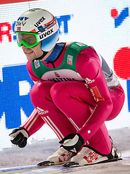 06.01.2015, Paul Ausserleitner Schanze, Bischofshofen, AUT, FIS Ski Sprung Weltcup, 63. Vierschanzentournee, Finale, im Bild Anders Jacobsen (NOR) // Anders Jacobsen of Norway reacts after his first Final Jump of 63rd Four Hills Tournament of FIS Ski Jumping World Cup at the Paul Ausserleitner Schanze, Bischofshofen, Austria on 2015/01/06. EXPA Pictures © 2015, PhotoCredit: EXPA/ Johann Groder