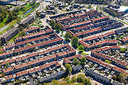 Nederland, Overijssel, Zwolle, 01-05-2013;<br /> de wijk Diezerpoort<br /> Residential area.<br /> luchtfoto (toeslag op standard tarieven);<br /> aerial photo (additional fee required);<br /> copyright foto/photo Siebe Swart.