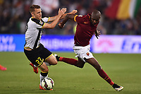 Silvan Widmer Udinese, Victor Ibarbo roma <br /> Roma 17-05-2015 Stadio Olimpico Football Calcio Serie A 2014/2015 AS Roma - Udinese . Foto Andrea Staccioli / Insidefoto