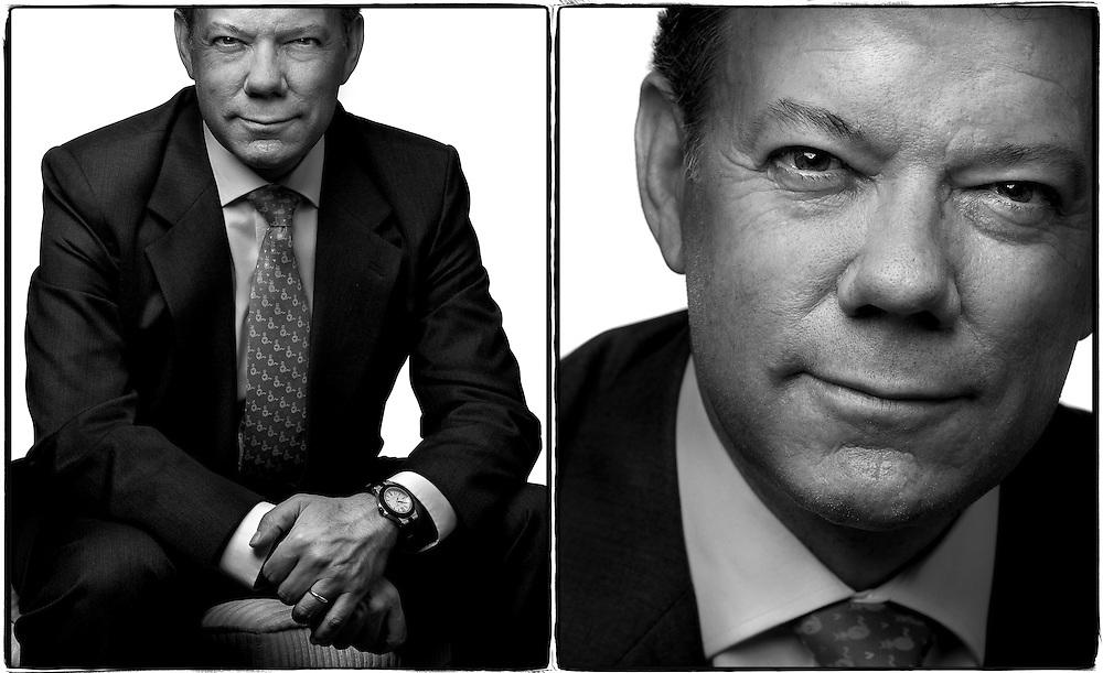 Colombian Defense Minister Juan Manuel Santos- <br /> Washington DC Corporate Photographer<br /> Location: Washington DC Columbian Ambassador's residence.