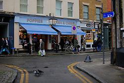 UK ENGLAND LONDON 4NOV12 - Street scene near Brick Lane and Shoreditch in London's trendy east end.....jre/Photo by Jiri Rezac....© Jiri Rezac 2012