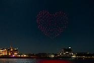 Droneshow Rotterdam 5 mei 2020