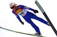 Kombinert, ,16.JAN.14 - SKI NORDISCH, NORDISCHE KOMBINATION, SKISPRINGEN- FIS Weltcup Nordic Triple, Training.  Mikko Kokslien (NOR)<br /> <br /> Norway only
