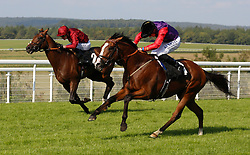 Call To Mind ridden by Pat Cosgrave wins The Goodwood Revival March Stakes run at Goodwood Racecourse, Chicester.
