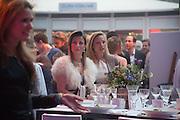 SHOSANA DADOUN;  ELENA SEREDA, Gabrielle's Gala 2013 in aid of  Gabrielle's Angels Foundation UK , Battersea Power station. London. 2 May 2013.