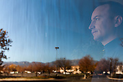 11/17/13 11:06:08 AM -- Albuquerque NM  -- Portait of Jay McCleskey at his office in Albuquerque NM.<br /> <br />  --    Photo by Steven St John