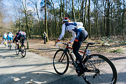 Onto the narrow bike paths of Drenthe - Ronde van Drenthe 2016, a 138km road race starting and finishing in Hoogeveen, on March 12, 2016 in Drenthe, Netherlands.