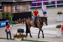 Von Bredow-Werndl Jessica, GER, TSF Dalera BB<br /> Olympic Games Tokyo 2021<br /> © Hippo Foto - Dirk Caremans<br /> 21/07/2021