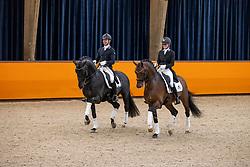 Veeze Bart, NED, Imposantos, Van Vliet Renate, In Style<br /> Fotodag KWPN Hengstenkeuring 2021<br /> © Hippo Foto - Dirk Caremans<br /> 06/01/2021