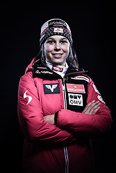12.10.2019, Olympiahalle, Innsbruck, AUT, FIS Weltcup Ski Alpin, im Bild Lisa Eder // during Outfitting of the Ski Austria Winter Collection and the official Austrian Ski Federation 2019/ 2020 Portrait Session at the Olympiahalle in Innsbruck, Austria on 2019/10/12. EXPA Pictures © 2020, PhotoCredit: EXPA/ JFK