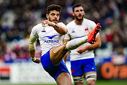 Romain Ntamack (FRA) during the Six Nations rugby union tournament match between France and Italy at the stade de France, in Saint Denis, on February 9, 2020. Photo by Julien Poupart/ABACAPRESS.COM