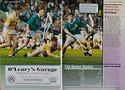 All Ireland Senior Hurling Championship - Final,.01.09.1996, 09.01.1996, 1st September 1996,.01091996AISHCF, .Wexford v Limerick,.Wexford 1-13, Limerick 0-14,.O'Leary's Garage, Wexford,