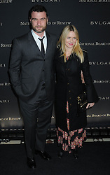 Liev Schreiber and Naomi Watts at the National Board of Review Gala.<br /> (NYC)