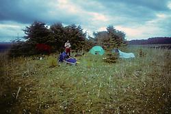 Bill Barber Camping In Glacier Bay
