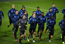 November 27, 2018 - Dortmund, France - Hans Vanaken midfielder of Club Brugge, Mats Rits midfielder of Club Brugge, Siebe Schrijvers forward of Club Brugge, Ruud Vormer midfielder of Club Brugge, Stefano Denswil defender of Club Brugge (Credit Image: © Panoramic via ZUMA Press)