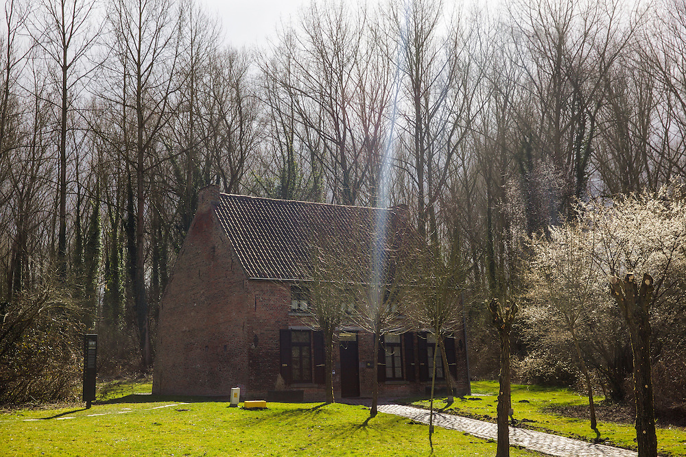 The house where Vincent Van Gogh lived in Cuesmes (near Mons, Belgium) in 1880. While living here Van Gogh decided to become an artist.