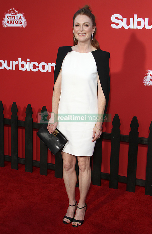Suburbicon Premiere at The Regency Village Theater in Westwood, California on 10/22/17. 22 Oct 2017 Pictured: Julianne Moore. Photo credit: River / MEGA TheMegaAgency.com +1 888 505 6342