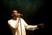 Nice (Cimiez), France. July 24th 2009. .Youssou N'Dour and his band perform at the Nice Jazz Festival.