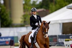 Botton Jessica Michel, FRA, Djembe De Hus OLD<br /> World Championship Young Horses Verden 2021<br /> © Hippo Foto - Dirk Caremans<br />  28/08/2021