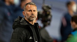 LONDON, ENGLAND - Thursday, October 8, 2020: Wales' manager Ryan Giggs before the International Friendly match between England and Wales at Wembley Stadium. The game was played behind closed doors due to the UK Government's social distancing laws prohibiting supporters from attending events inside stadiums as a result of the Coronavirus Pandemic. England won 3-0. (Pic by David Rawcliffe/Propaganda)