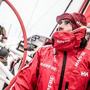 Leg 02, Lisbon to Cape Town, day 16, on board MAPFRE. Photo by Ugo Fonolla/Volvo Ocean Race. 20 November, 2017