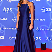 Amy Bowden attends BBC1's National Lottery Awards 2019 at BBC Television Centre, 101 Wood Lane, on 15 October 2019, London, UK.