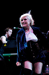 Blondie with INXS at Hallam FM Arena 6th December 2002<br /><br />Copyright Paul David Drabble<br />Freelance Photographer<br />07831 853913<br />0114 2468406<br />www.pauldaviddrabble.co.uk<br /> [#Beginning of Shooting Data Section]<br />Nikon D1 <br /> 2002/12/06 22:57:46.3<br /> JPEG (8-bit) Fine<br /> Image Size:  2000 x 1312<br /> Color<br /> Lens: 80-200mm f/2.8-2.8<br /> Focal Length: 80mm<br /> Exposure Mode: Manual<br /> Metering Mode: Spot<br /> 1/200 sec - f/2.8<br /> Exposure Comp.: 0 EV<br /> Sensitivity: ISO 800<br /> White Balance: Auto<br /> AF Mode: AF-C<br /> Tone Comp: Normal<br /> Flash Sync Mode: Not Attached<br /> Color Mode: <br /> Hue Adjustment: <br /> Sharpening: Normal<br /> Noise Reduction: <br /> Image Comment: <br /> [#End of Shooting Data Section]