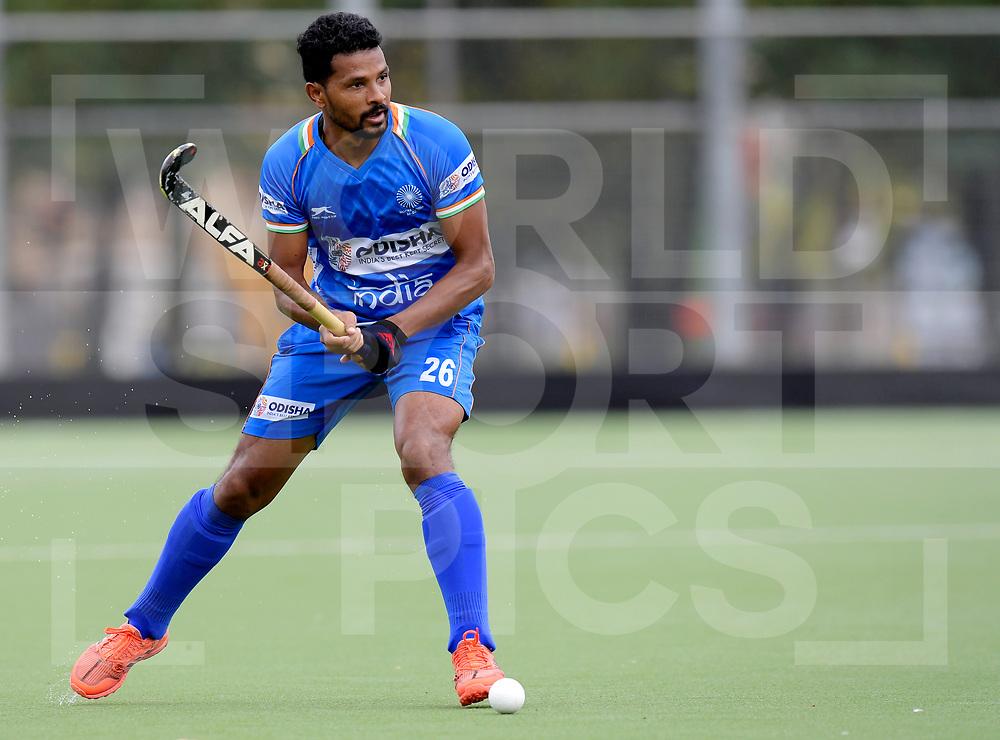 ANTWERPEN - 2019 Test Matches: India<br /> Belgium v India<br /> Photo: Birendra Lakra <br /> WORLDSPORTPICS COPYRIGHT FRANK UIJLENBROEK