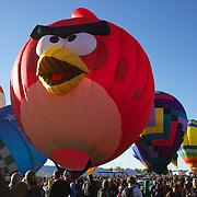 Angry Bird debuts at 2013 Albuquerque International Balloon Fiesta