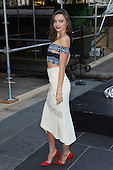 Miranda Kerr attends a ceremony for The Swarovski Star