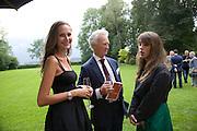 ANOUSKA D'ABO; HENRY D'ABO;  MARYAM ABDULLINA, Christie's Gala. Casa Austria.  Amadeus Weekend. Salzburg. 22 August 2008.  *** Local Caption *** -DO NOT ARCHIVE-© Copyright Photograph by Dafydd Jones. 248 Clapham Rd. London SW9 0PZ. Tel 0207 820 0771. www.dafjones.com.