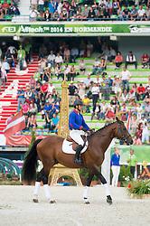 Ideal de la Loge - Selle Francais Parade - Closing Ceremony - Alltech FEI World Equestrian Games™ 2014 - Normandy, France.<br /> © Hippo Foto Team - Jon Stroud<br /> 07/09/14