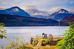 Looking across Loch Lomond from Inversnaid towards Inveruglas and the mountains beyond<br /> <br /> (c) Andrew Wilson | Edinburgh Elite media