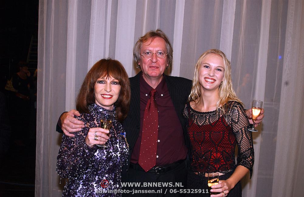 KO Liesbeth List, met man Robert Braaksma en dochter Elisah