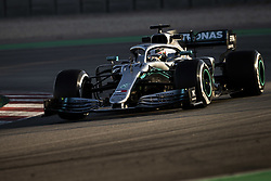 February 18, 2019 - Barcelona, Spain - 44 HAMILTON Lewis (gbr), Mercedes AMG F1 GP W10 Hybrid EQ Power+, action during Formula 1 winter tests from February 18 to 21, 2019 at Barcelona, Spain - Photo Motorsports: FIA Formula One World Championship 2019, Test in Barcelona, (Credit Image: © Hoch Zwei via ZUMA Wire)