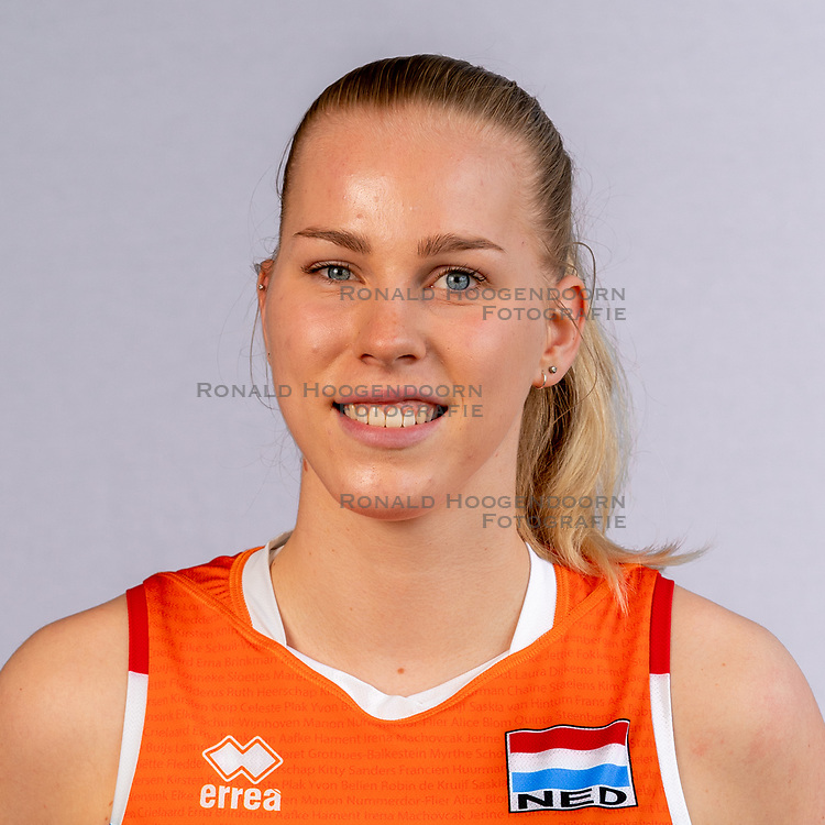 Demi Korevaar of Netherlands, Photoshoot selection of Orange women's volleybal team season 2021on may 12, 2021 in Arnhem, Netherlands (Photo by RHF Agency/Ronald Hoogendoorn)