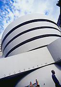 Image of the Solomon R. Guggenheim Museum in New York City, New York by Andrea Wells