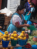 Messico,Un Mercato vicino a San Cristobal de las casas,
