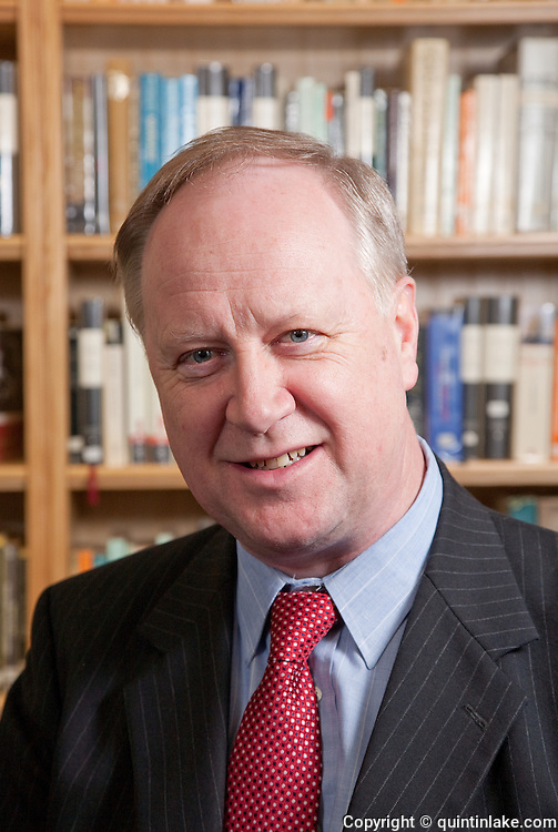 Rev Canon Keith Wilkinson, Governor, Magdalen College School 2010, Photographed in the school library.