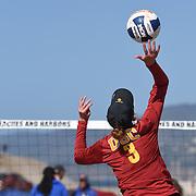 USC Beach Volleyball v UCLA   Zuma Beach
