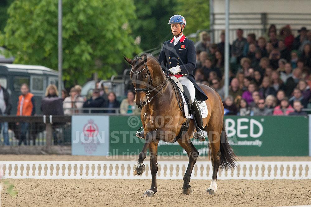 Carl Hester (GBR) & Nip Tuck - Royal Windsor Horse Show - Windsor, Berkshire, United Kingdom - 15 May 2015