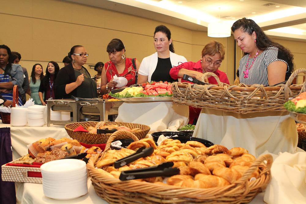 2013 VIPS Partnership Breakfast held at the Kingdom Builders Center.
